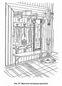 Рис. 57. Фрагмент интерьера прихожей