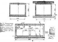 Рис. 5.7. Прямоугольные подземные галереи конвейеров топливоподачи