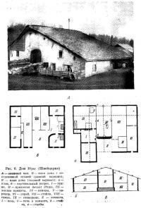 Рис. 6. Дом Юры (Швейцария)