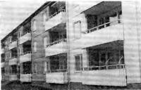 Рис. 60. Составные стеновые панели с размерами на одно и два окна фирмы «Итонг»