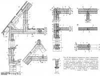 Рис. 69. Конструкция стандартного дома с применением цементного фибролита