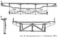 Рис. 88. Автодорожный мост у г. Монтабаура (ФРГ)