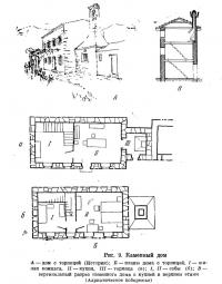 Рис. 9. Каменный дом