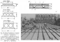 Рис. 90. Плиты-вкладыши из турнзопа для устройства железобетонных перекрытий