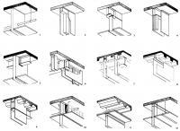 Рисунки 1-12. Верхнее примыкание