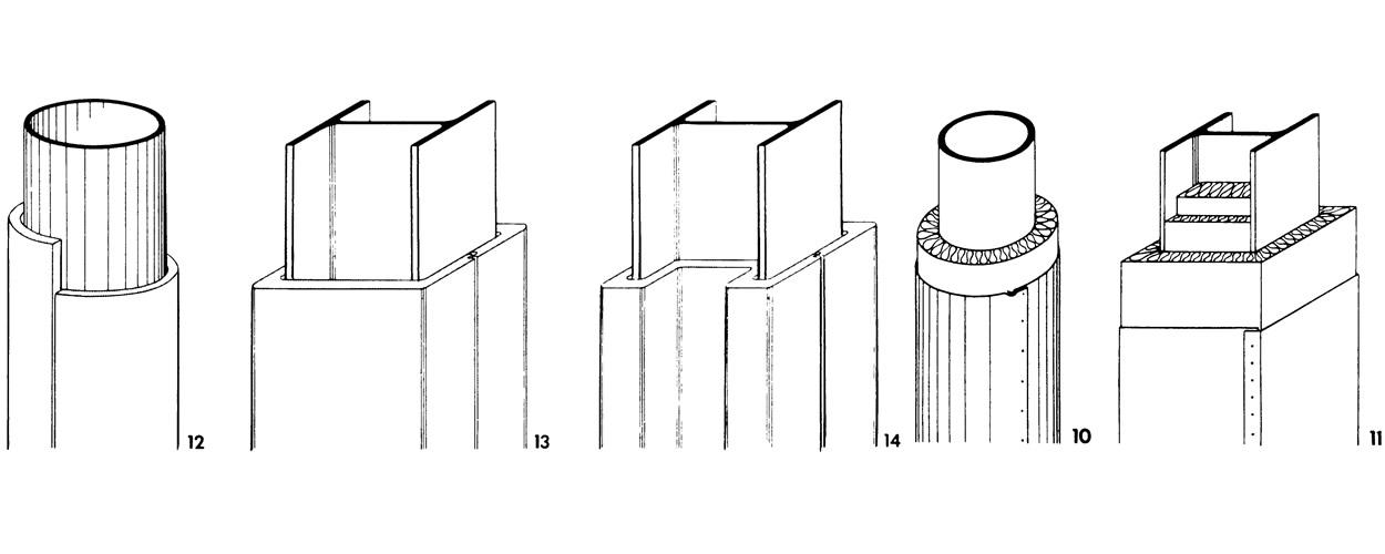 Огнезащита железобетонных колонн жби плиты для канализации