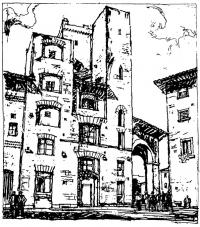 Сан-Джиминиано. Италия