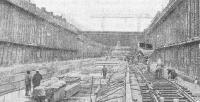 Щитовой комплекс КМО-2Х5 для сооружения тоннелей открытым способом