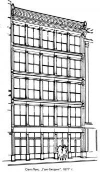 Сент-Луис. Гант-билдинг, 1877 г.