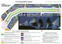 Схема светоцветового зонирования