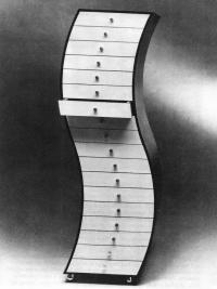 Шкаф криволинейный. Ш. Куромата, 1970