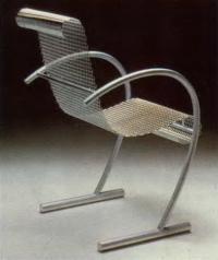 Синг, Синг, Синг. Дизайнер Широ Курамата, 1985 (мебель из металла)