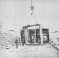 Сооружение тоннелей открытого способа работ с цельносекционной обделкой
