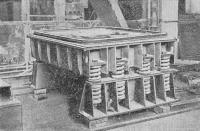 Современная ударно-вакуумная виброплощадка для формовки железобетонных тюбингов
