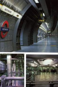 Станция метро Вестминстер, Лондон. М. Хопкинс и партнеры, 1991—2000