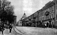 Старый Минск. бывш. Соборная площадь (ныне площадь Свободы)