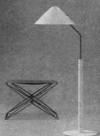 Светильник, стул. И. Гаммельгаард, Дания