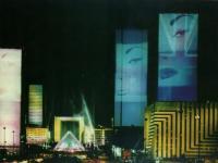 Свето-цвето-звуковой спектакль Город в концерте, автор Ж.-М. Жарр, 1990