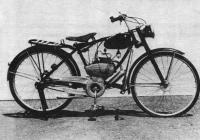 Связь конструкции и формы. Открытая (мотоцикл Сузуки, 1953)
