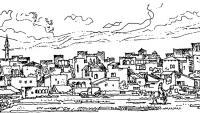 Тель-Авив. Арабский квартал. Путевые зарисовки 1967 г.