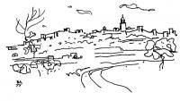 Трухилио, Испания. Путевые зарисовки 1975 г.