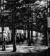 Туристский лагерь у озера Нарочь