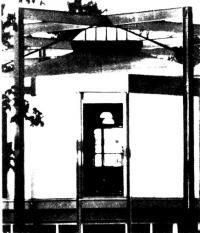Угол здания на втором этаже