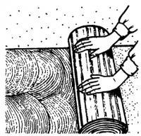 Укладка отделочного материала