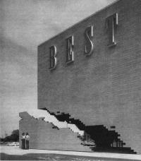 Универмаг фирмы Бест. Группа САЙТ, США, 1978