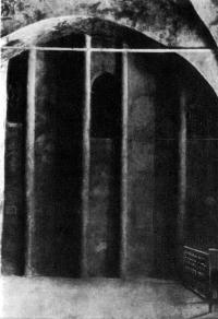Успенский собор Печерского монастыря. Апсиды Ивановской крещальни. Фото 30-х годов XX в
