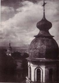 Васильевская церковь на Большом дворе. Фото 30-х годов XX в