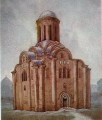 Васильевская церковь на Новом дворе. Реконструкция автора