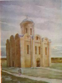 Васильевская церковь. Реконструкция автора
