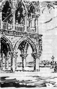Венеция. Дворец Дожей. Каменные конструкции работают на пределе