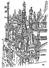 Венеция. Собор Сан Марко. Фрагмент фасада
