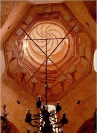 Вид на шатер юго-восточного малого придела Александра Свирского