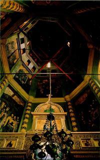 Вид на восьмерик и шатер южного столпа - придел Николы Великорецкого
