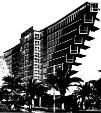 Внешний вид гостиницы «Дю Лак»