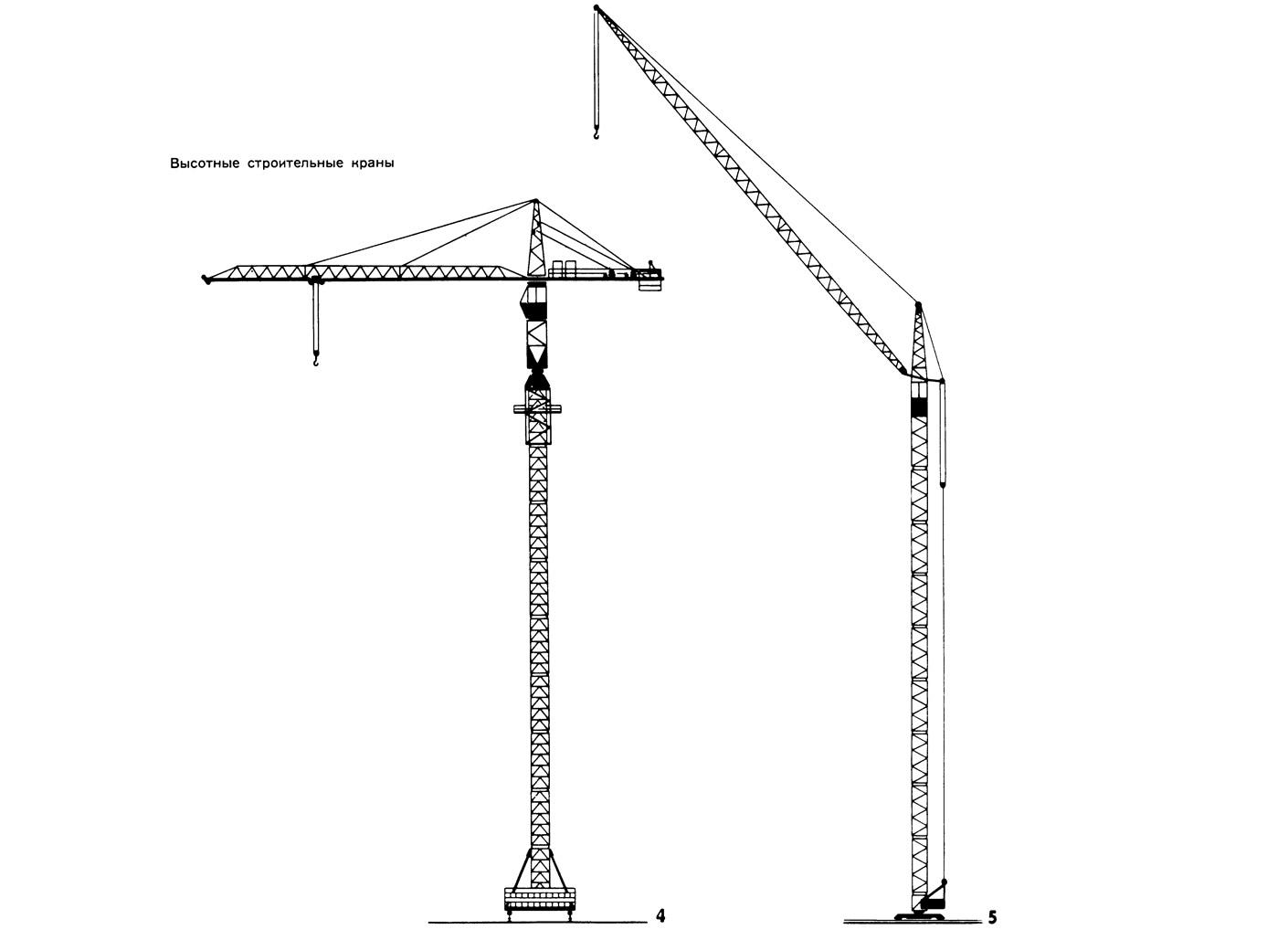Высотные строительные краны