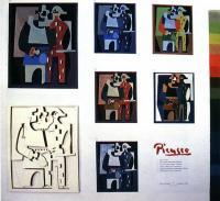 Выявление пластической и пространственной сути работ П. Пикассо и Ф. Леже