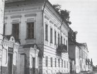 Застройка набережной жилыми домами первой половины XIX в.