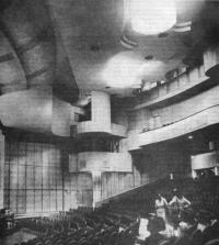 Здание Детского музыкального театра. Интерьер зала