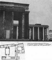 Здание Государственной библиотеки СССР имени В. И. Ленина