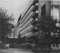 Здание комбината «Правда», улица «Правды», 24. Архитектор П. Голосов, 1930—1935