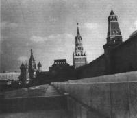 Здание Мавзолея В. И Ленина. Архитектор А. Щусев, 1929—1930