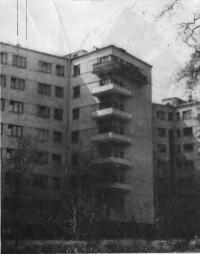 Жилой дом на углу Староконюшенного переулка и Сивцева Вражка, 1930