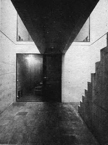 Жилой дом в Осаке. Т. Андо, 1976